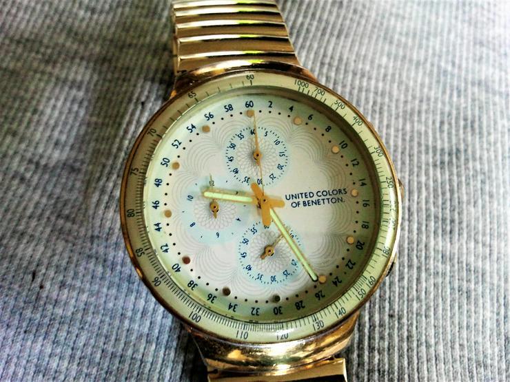 Bild 3: Benetton Chronograph