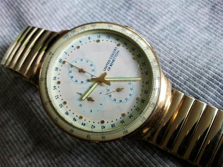 Bild 2: Benetton Chronograph