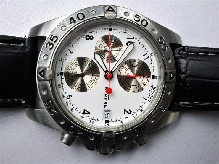Sempre Chronograph - Herren Armbanduhren - Bild 4