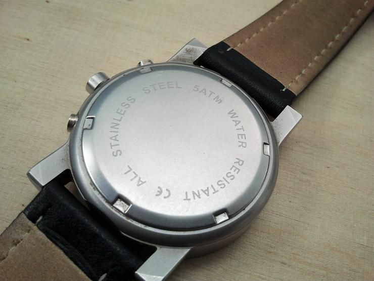 Bild 6: Herrenchronograph mit Citizen/Miyota Uhrwerk