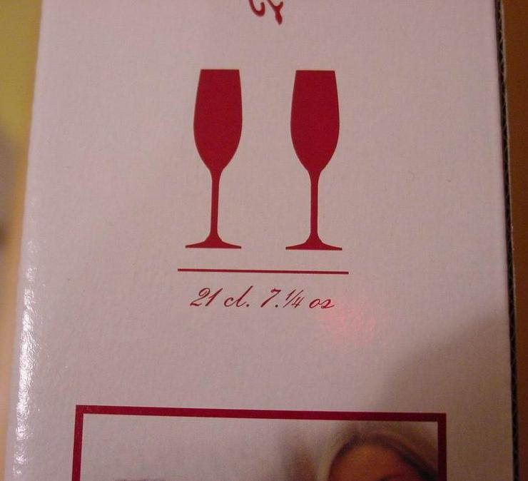 Bild 2: 2 Champagnergläser (Libbey Leerdam)