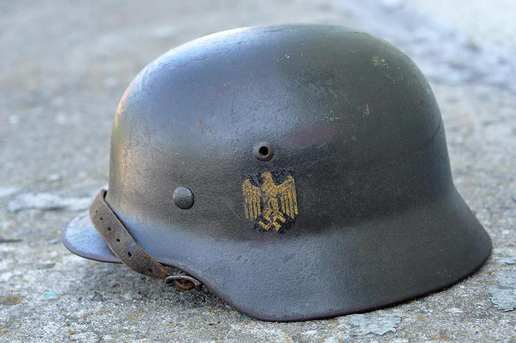 Stahlhelm M35 Kriegsmarine aus Wk2