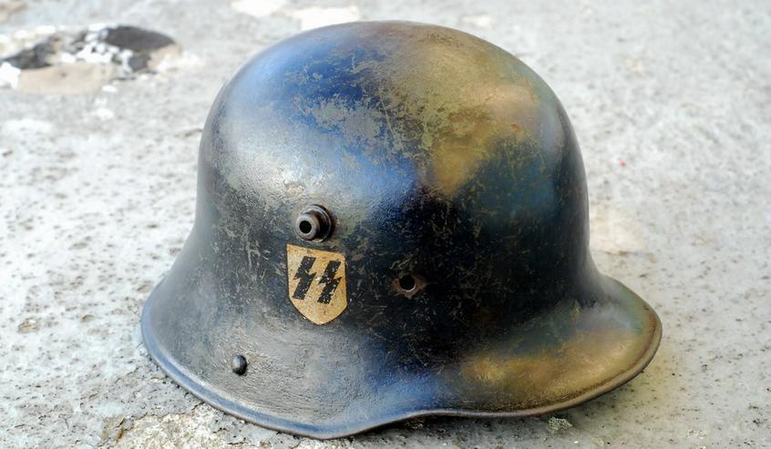 Stahlhelm M18 SS aus Wk2