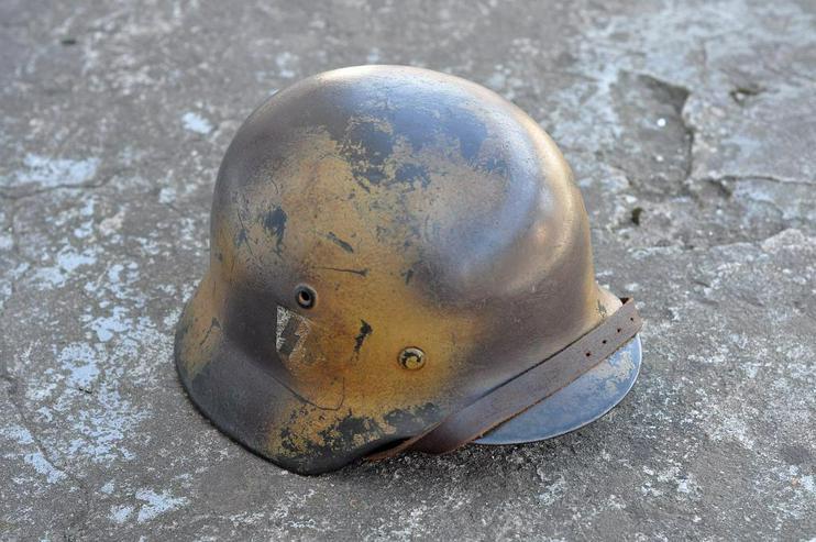 Stahlhelm M40 SS aus Wk2