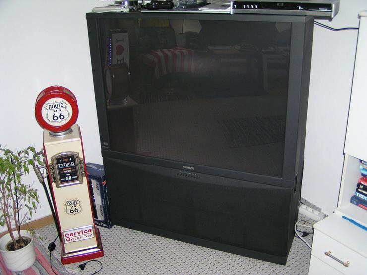 Rückprojektor von Thomson 46RH44E Type 369R/ICC19 100 Hertz TV  defekt