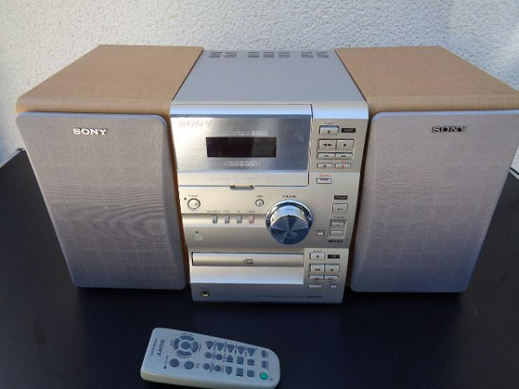 Sony HCD-CP1 Kompakt Digital Receiver Musikanlage+2 Boxen