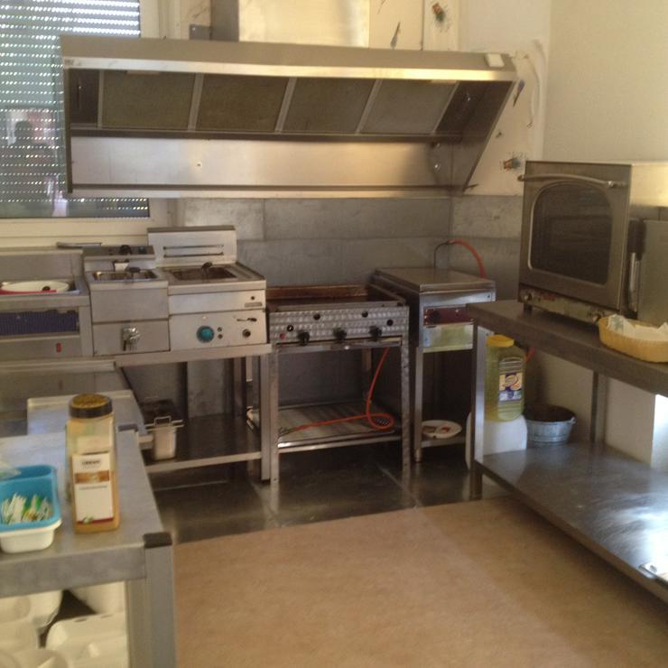 Fritteuse aus Gastro-Kücheneinrichtung