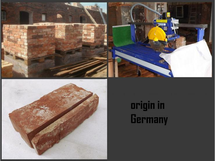 Bild 5: Antikriemchen Steinriemchen Rückbau Mauerstein ökologische klimaneutral Wandgestaltung Wandpanele antik