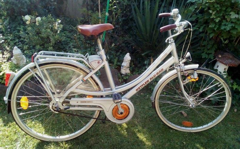Damenrad 26 zoll ,Allu Kettler  ,3 Gang-Nabenschaltung .Rahmenhöhe 50cm.