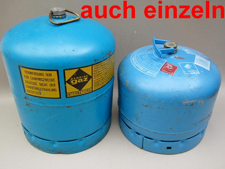 GAZ 907 & 904 Gasflasche Butangasflasche Campinggaz Blau Butan