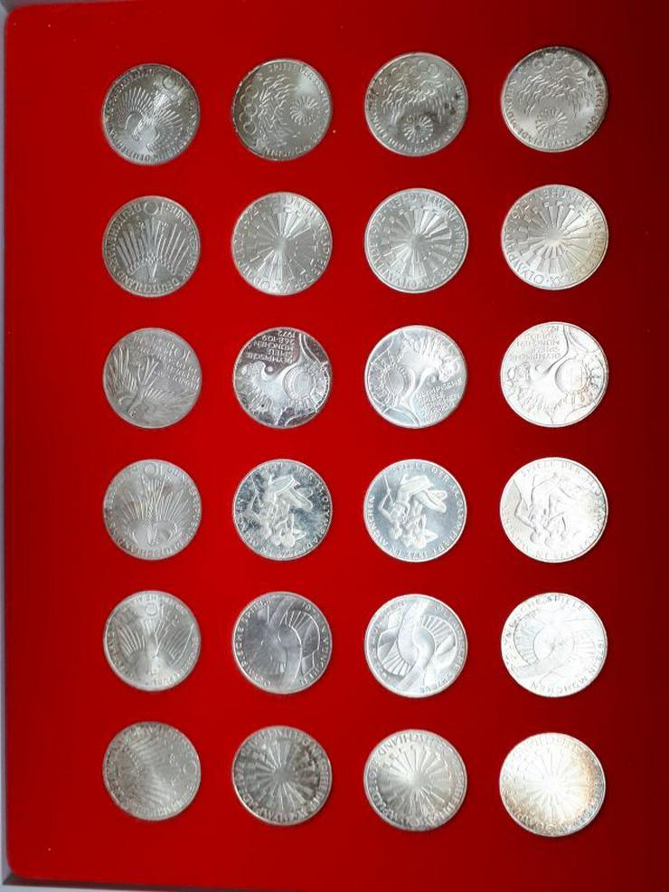 24 Olympiamünzen von 1972 - Deutsche Mark - Bild 1