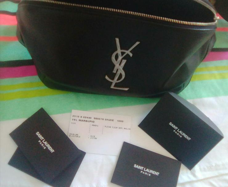 Bild 3: Yves Saint Laurent, classic monogram belt bag zum Megapreis