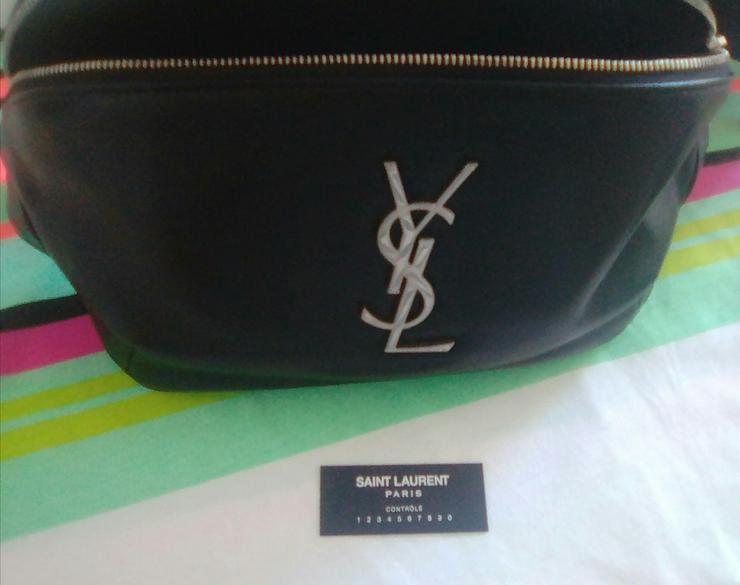 Bild 5: Yves Saint Laurent, classic monogram belt bag zum Megapreis