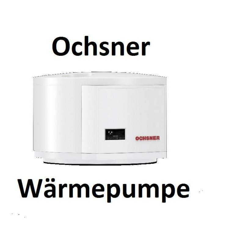 1A OCHSNER Europa Mini IWP Luft / Wasser Warmwasser Wärmepumpe