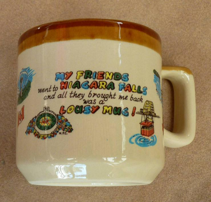 Niagara Falls Original Kaffeebecher aus USA, Neu, nicht benutzt
