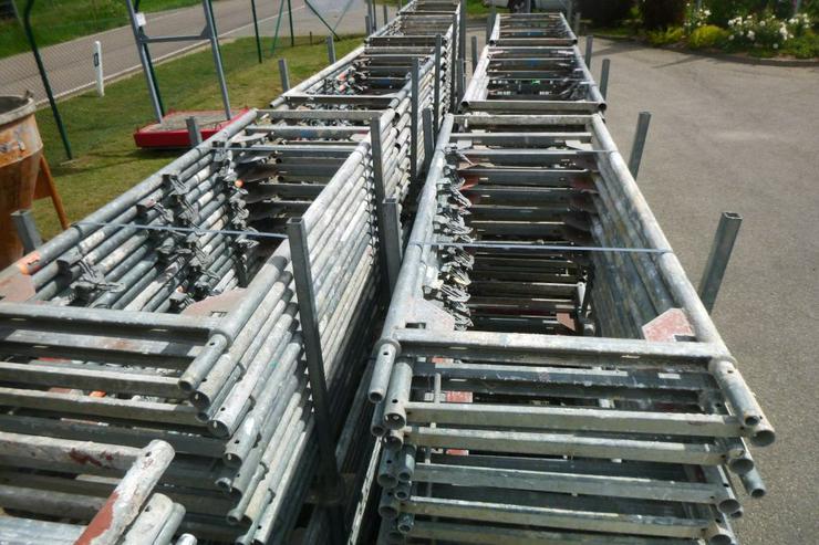 Bild 2: Layher Blitzgerüst Stellrahmen Gerüst Rahmen 2,00m x 0,73m Stahl