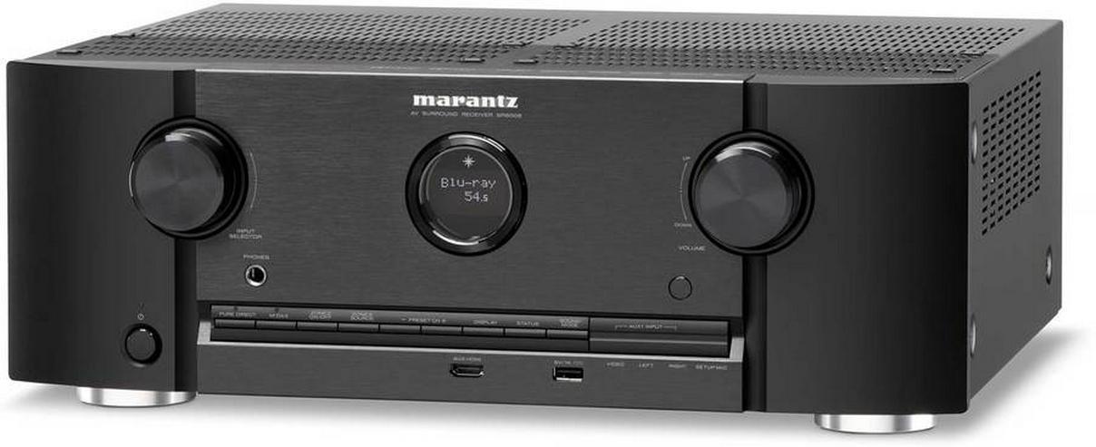 Marantz SR-6008 AV-Receiver 7.2, wenig gelaufen, Zustand 1A - Heimkino - Bild 1