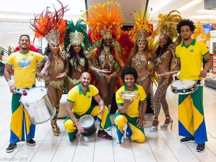 Bild 4: Brasilianische Sambatänzerin - Brasil- & Sambashow für Ihren Event mieten