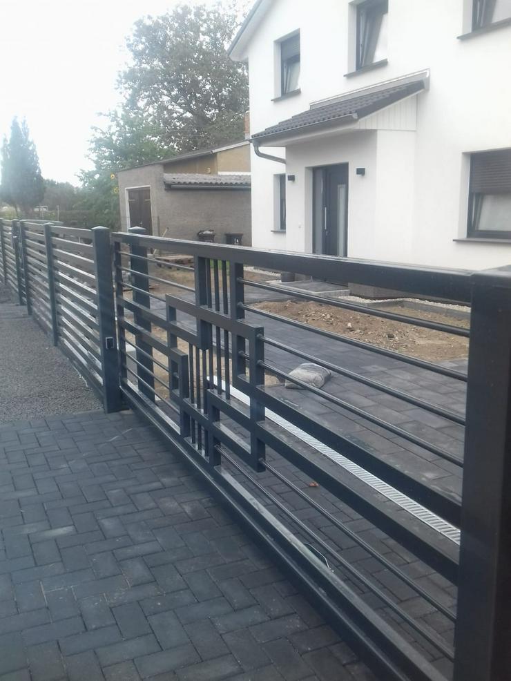 Bild 4: Zäune & andere Stahlelemente (Geländer, Treppen, Balustraden)