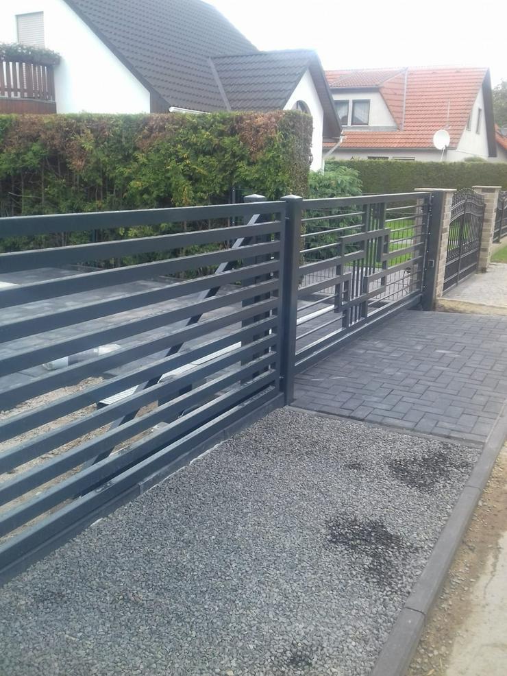Bild 5: Zäune & andere Stahlelemente (Geländer, Treppen, Balustraden)