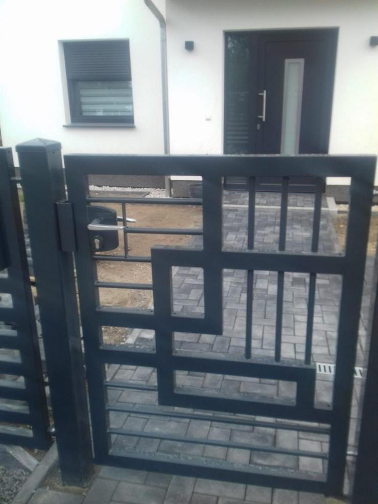 Bild 2: Zäune & andere Stahlelemente (Geländer, Treppen, Balustraden)