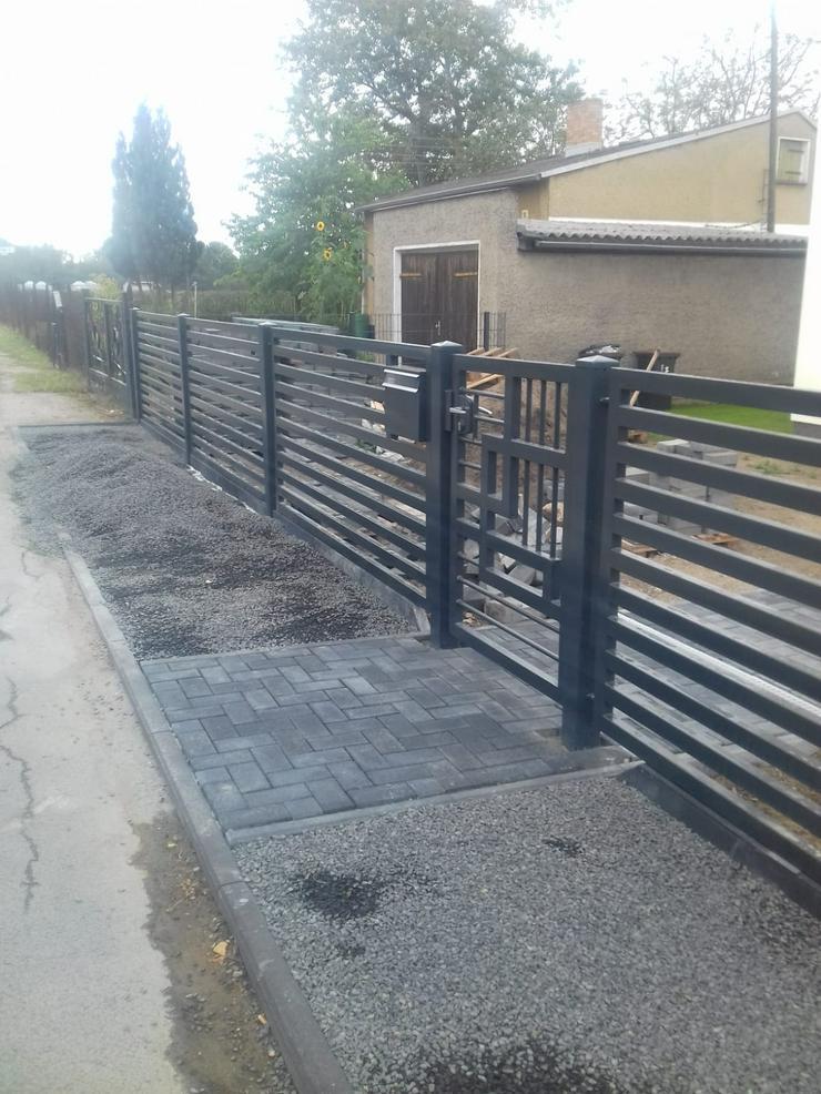 Bild 3: Zäune & andere Stahlelemente (Geländer, Treppen, Balustraden)