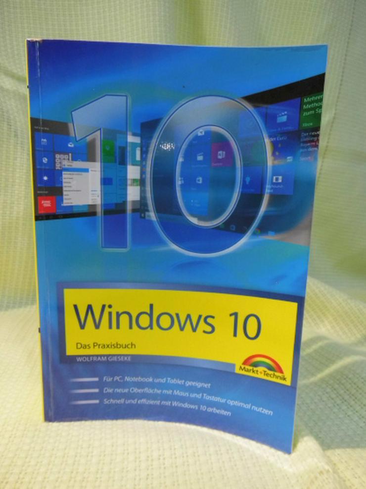 Sachbuch Windows 10 / Wolfram Gieseke / ISBN 978-3-945384-59-6 / 2015