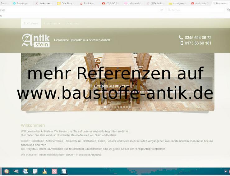 Bild 12: Antikriemchen Steinriemchen Rückbau Mauerstein ökologische klimaneutral Wandgestaltung Wandpanele mediterran Landhaus