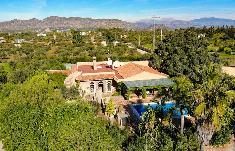 Bild 3: Finca 4600 qm Grundstück mit 2 Häuser und 2 Apartments zu verkaufen