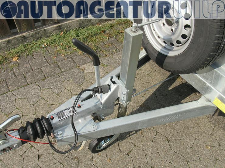 Bild 7: Kippanhänger Heckkipper mit elektrohydr- Betätigung mieten
