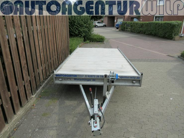 Bild 11: Plattformanhänger Multitransporter Ladefläche 4x2m Anhänger mieten