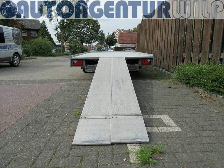 Bild 9: Plattformanhänger Multitransporter Ladefläche 4x2m Anhänger mieten