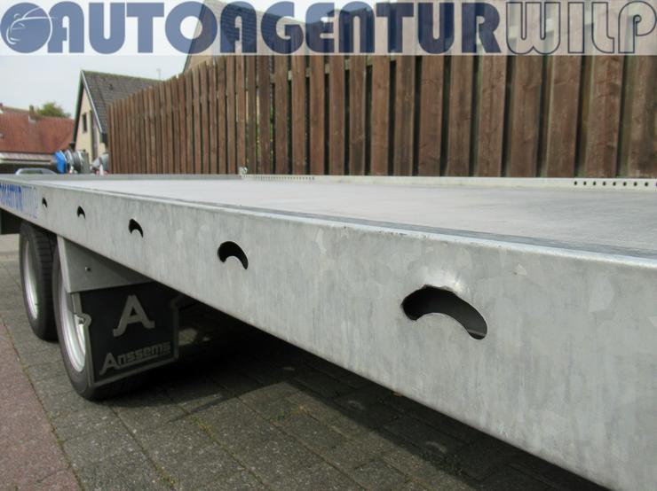 Bild 6: Plattformanhänger Multitransporter Ladefläche 4x2m Anhänger mieten
