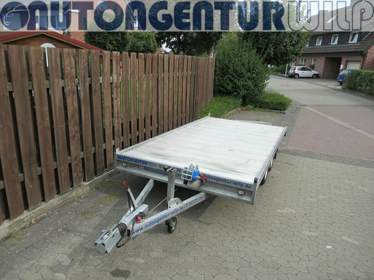 Bild 12: Plattformanhänger Multitransporter Ladefläche 4x2m Anhänger mieten