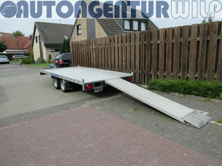 Bild 8: Plattformanhänger Multitransporter Ladefläche 4x2m Anhänger mieten