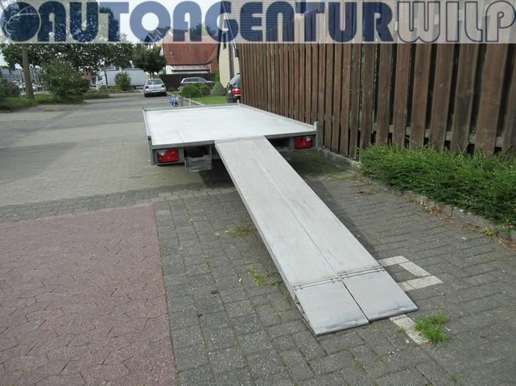 Bild 7: Plattformanhänger Multitransporter Ladefläche 4x2m Anhänger mieten