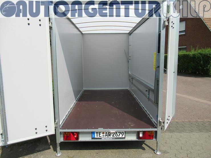 Bild 10: Kofferanhänger 2.000 kg, 3,00x1,48x1,80 m mieten großer Anhänger