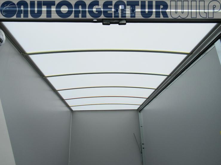Bild 11: Kofferanhänger 2.000 kg, 3,00x1,48x1,80 m mieten großer Anhänger