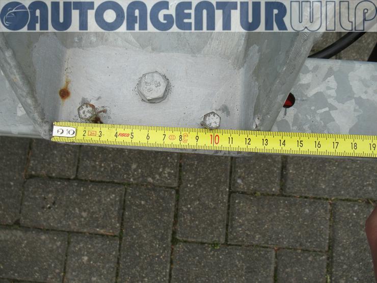 Bild 9: Motorradanhänger für 1 - 2 Motorräder mieten 750 kg zu vermieten