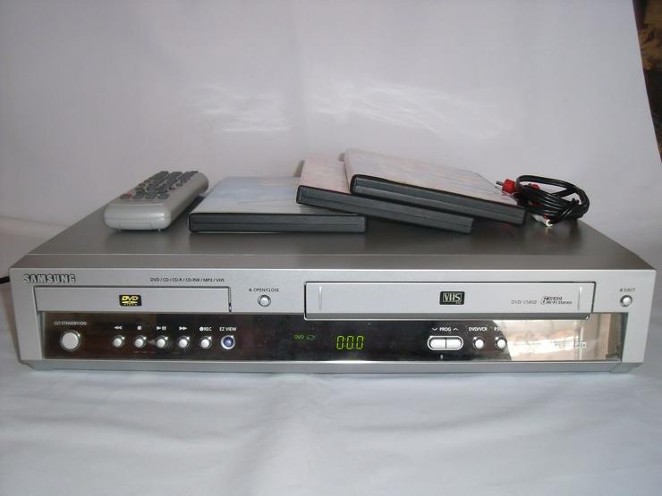 DVD / VHS-Kombigerät von SAMSUNG5450 DviX mit FB gute zust.