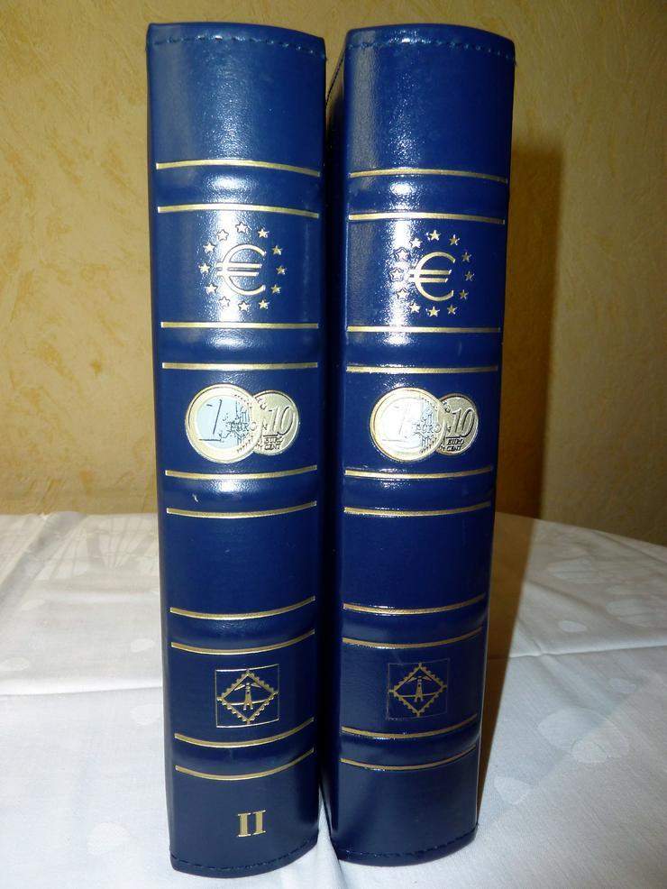 Bild 9: Münzkoffer, Holzkassetten und Sammelalben