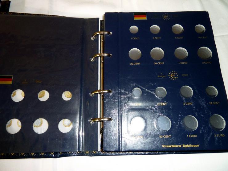 Bild 7: Münzkoffer, Holzkassetten und Sammelalben