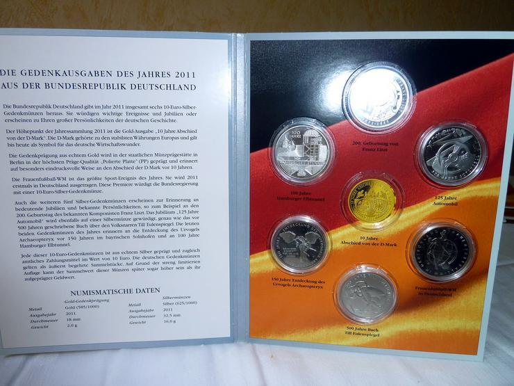Bild 6: 10-Euro-Gedenkmünzen