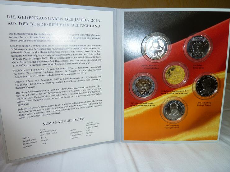 Bild 3: 10-Euro-Gedenkmünzen