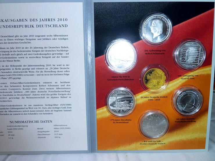 Bild 7: 10-Euro-Gedenkmünzen