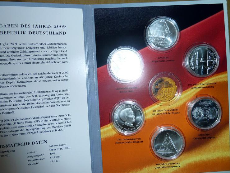 Bild 8: 10-Euro-Gedenkmünzen