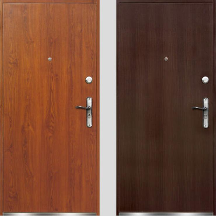Bild 2: Tür VERONA Haustür Eingangstür Stahltür 80/90 Breite 45 mm Golden Eiche