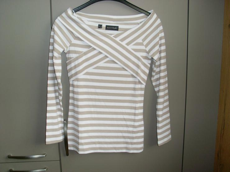 Neu: Damen T Shirt gestreift Gr 36 von Bonprix