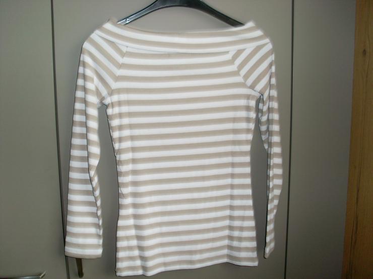 Bild 3: Neu: Damen T Shirt gestreift Gr 36 von Bonprix