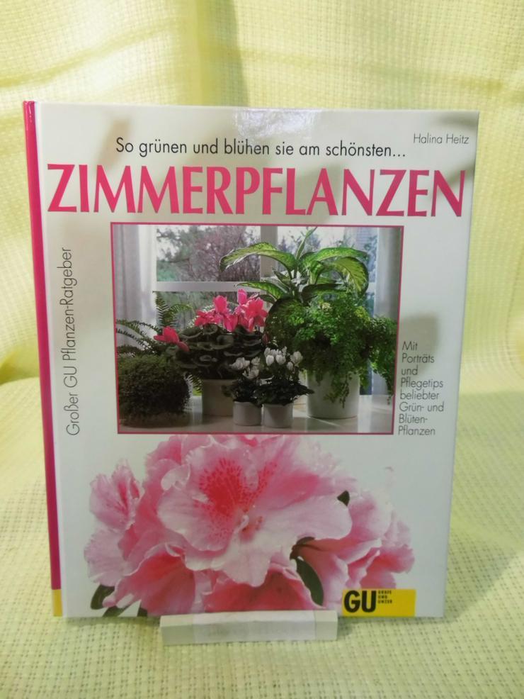 Zimmerpflanzen, Halina Heitz / Gräfe und Unzer Verlag / Pflanzen - Ratgeber Buch